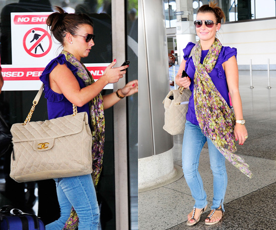 7accaf91b955 She was also carrying a giant Chanel shoulder bag. Copy Coleen's style below .