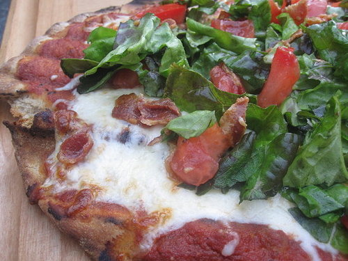 Grilled Red Pizza