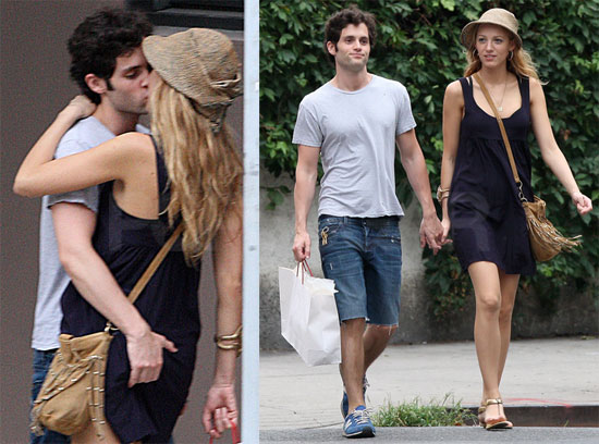 Blake lively and penn badgley dating in real life