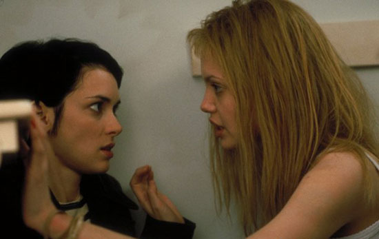 video clip of angelina jolie and elisabeth moss in girl