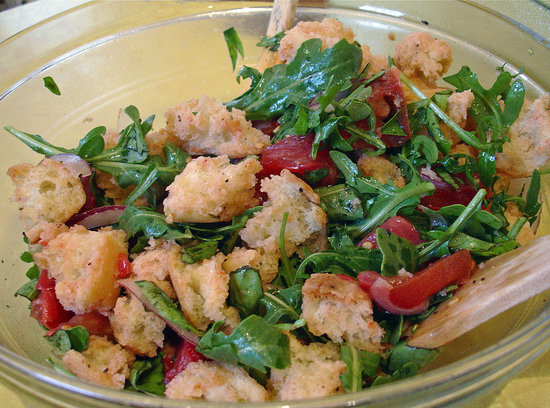 Recipe For Tomato Panzanella Bread Salad Popsugar Fitness