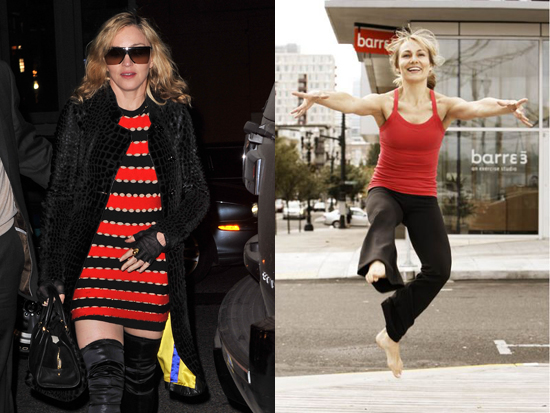 Madonna S New Fitness Regimen Is Barre3 With Trainer Sadie
