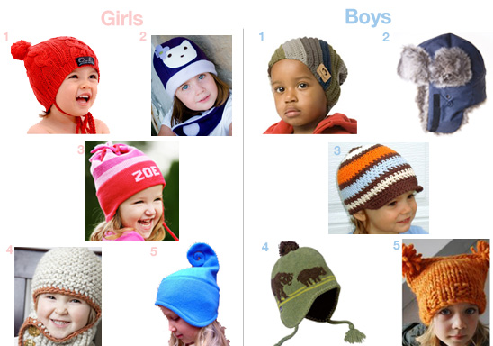 Cool Winter Hats For Kids  09087f3b098