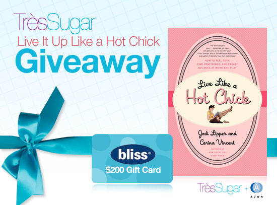 $200 Gift Certificate to Bliss Spa Giveaway