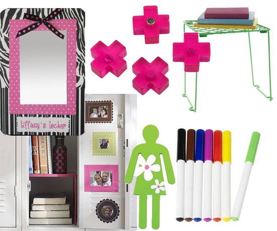 Cute locker accessories for girls popsugar moms for Cute decor items