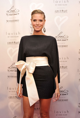 Interview with Heidi Klum About Maternity Clothes | POPSUGAR Moms