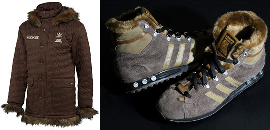 f0a8eca829c Adidas Originals Star Wars Chewbacca Shoes and Coat