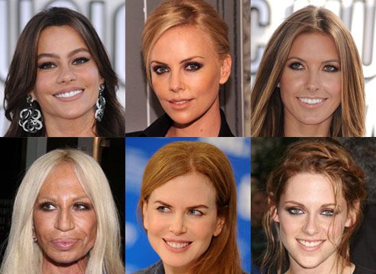 Celebrities Natural Hair Colors Popsugar Beauty