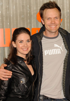 Joel mchale and alison brie dating. Dating for one night.