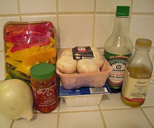 Spicy Tofu and Veggies Over Quinoa