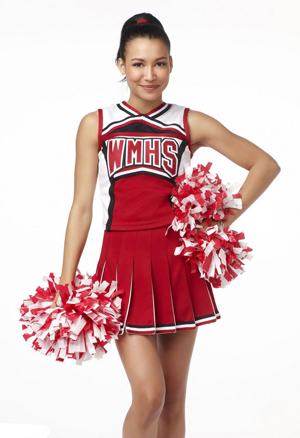 Naya Rivera Shares How She Stays in Shape as Santana ...
