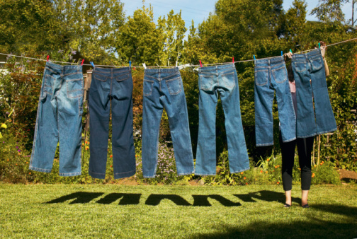 Wash Jeans Inside Out to Preserve the Colour | POPSUGAR Fashion UK