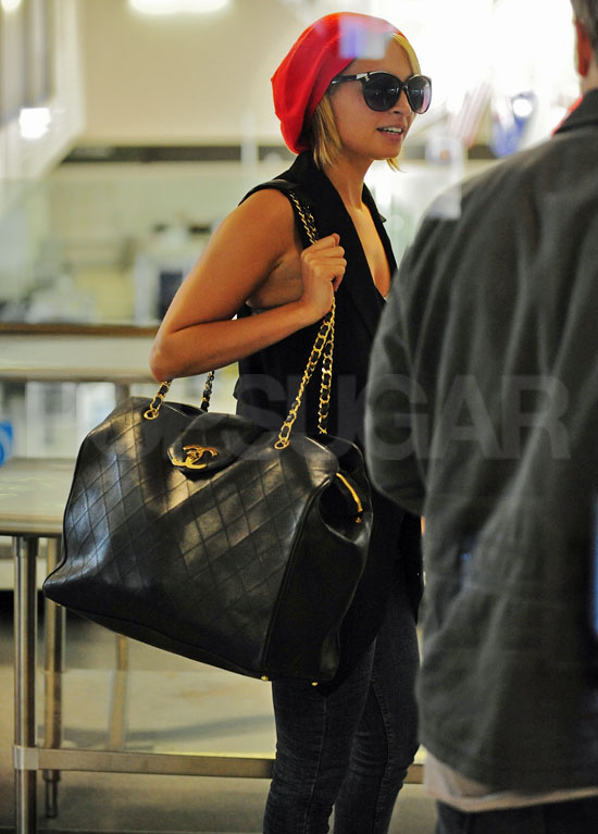 574ec6667a71 Pictures of Nicole Richie Departing Out of LAX With a Large Chanel ...