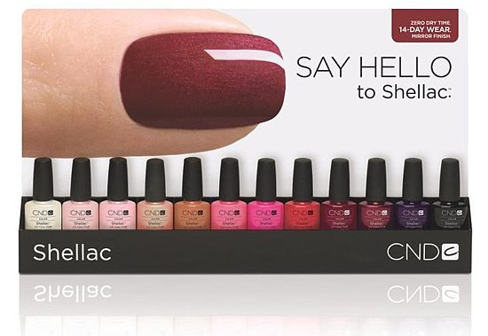 New Nail Colors From CND Shellac in March 2011 | POPSUGAR Beauty