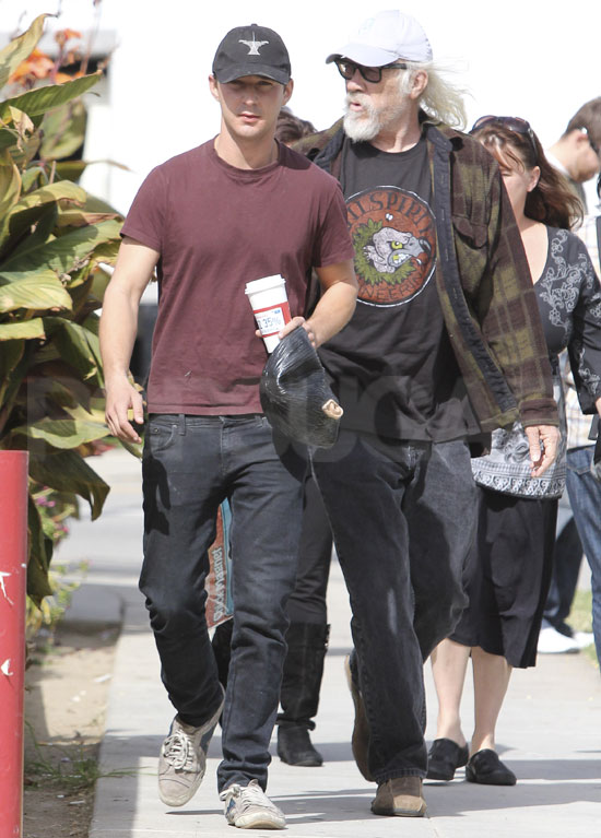 Image result for shia labeouf and father