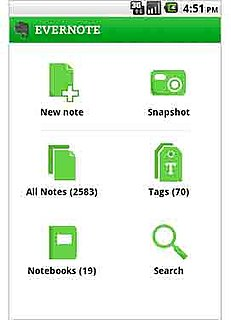 Evernote For Android Update   POPSUGAR Tech