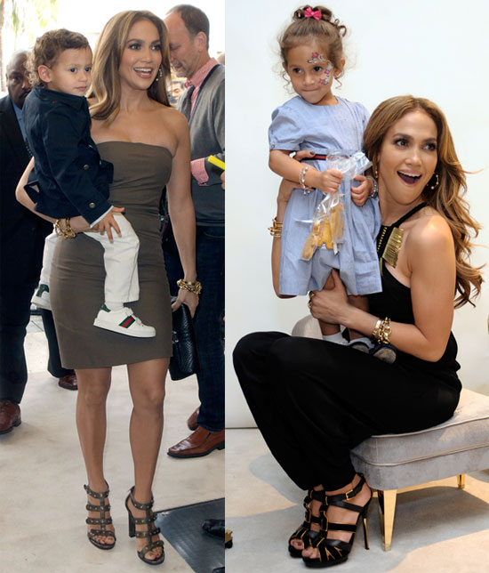 9c369dff477a Pictures of Jennifer Lopez and Jennifer Meyer at a Gucci Children s  Collection Event in LA