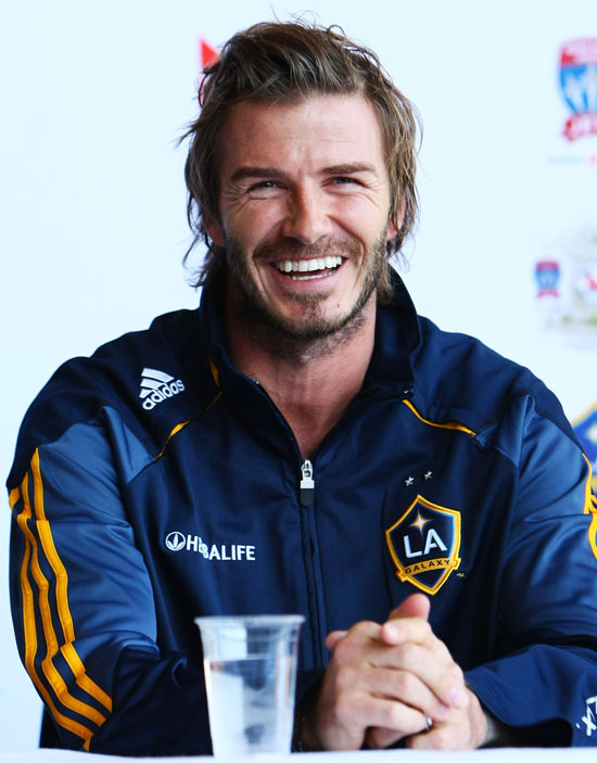 Pictures Of David Beckham With LA Galaxy In Sydney POPSUGAR - David beckham hairstyle la galaxy