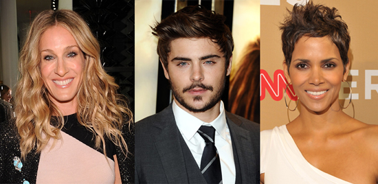 Sarah Jessica Parker Zac Efron And Halle Berry To Star In New