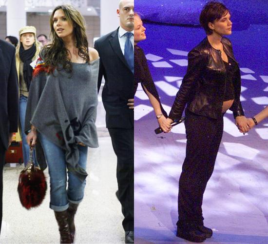 Victoria Beckham Pregnancy Style