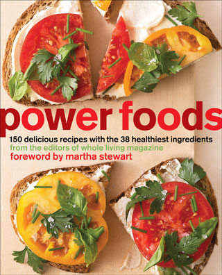 Review of power foods cookbook by editors of whole living magazine if eating healthy is one of your goals for 2011 i suggest investing in some quality cookbooks to enhance your culinary experience flipping through recipe forumfinder Image collections