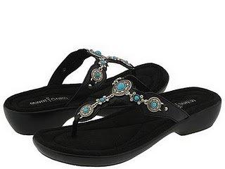 Minnetonka Boca Thong Sandals
