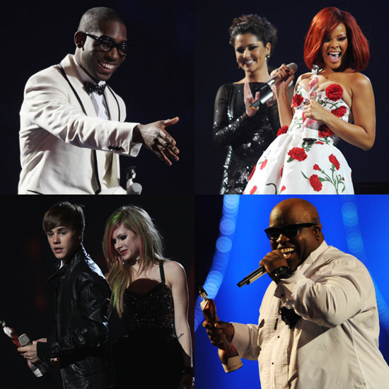 7893c277a7eb Full List of 2011 Brit Awards Winners Including Rihanna, Justin Bieber, Cee  Lo Green, Tinie Tempah, Take That, and More