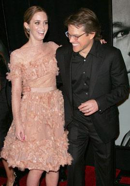 The Adjustment Bureau's Matt Damon and Emily Blunt on ...