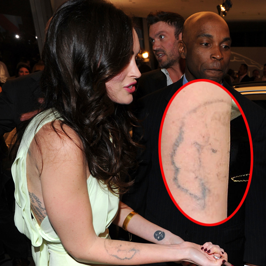 megan foxs marilyn monroe tattoo is disappearing