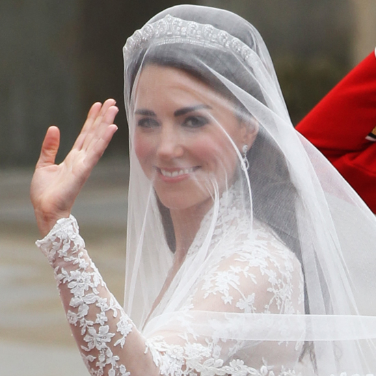 Wedding Hairstyle Kate Middleton : Kate middleton wedding hair and makeup pictures popsugar beauty