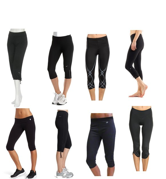 Stylish Black Workout Capri Pants | POPSUGAR Fitness