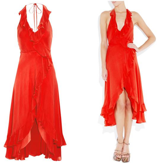 Haute Hippie&39s Sexiest Red Dress  POPSUGAR Fashion
