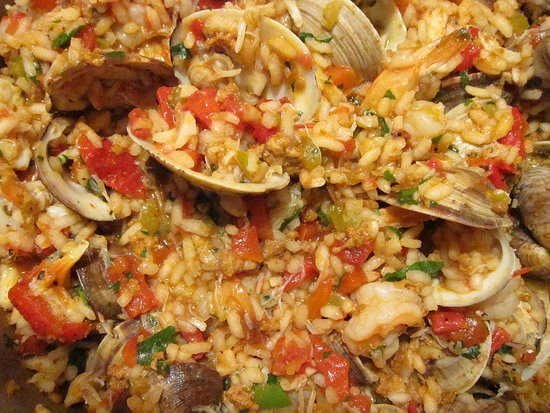 Easy paella recipe popsugar food paella the traditional spanish rice dish with origins in valencia i highly recommend you give it a try this weekend this uncomplicated recipe is easy forumfinder Choice Image