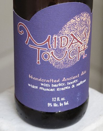 Image result for midas touch beer dogfish