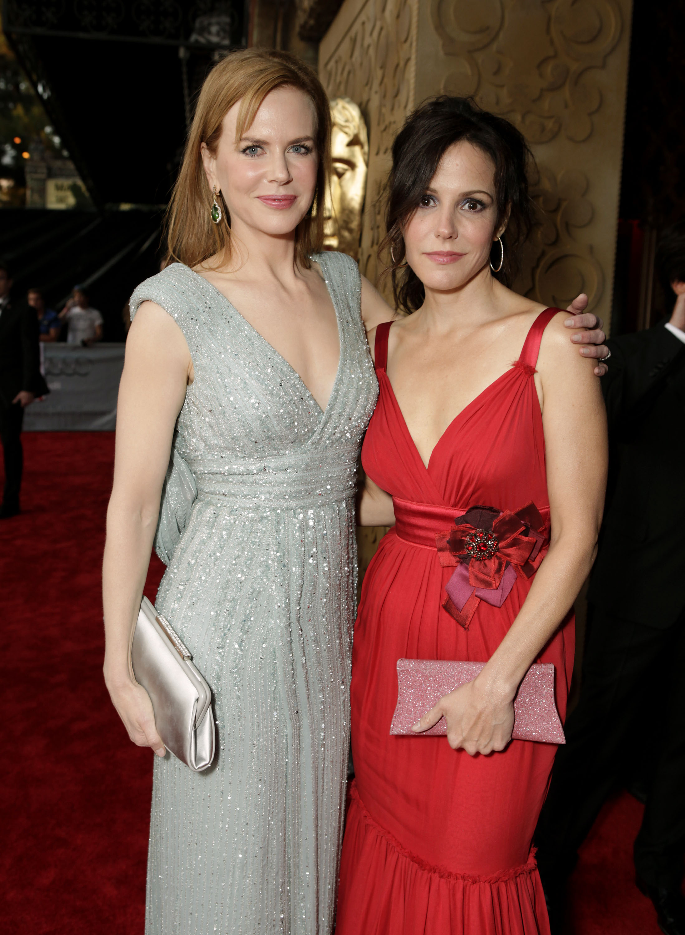Nicole Kidman and Mary Louise Parker at the BAFTA Brits to Watch event in LA.