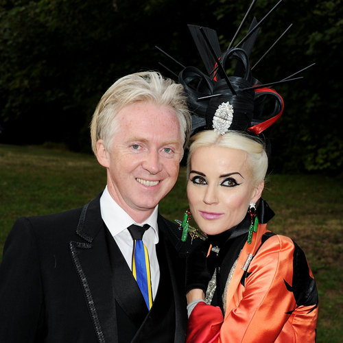 19d8bdac8cbbbf Philip Treacy has long been known for his fantastic hats and fascinators,  among them the controversial headpiece Princess Beatrice wore to Prince  William ...