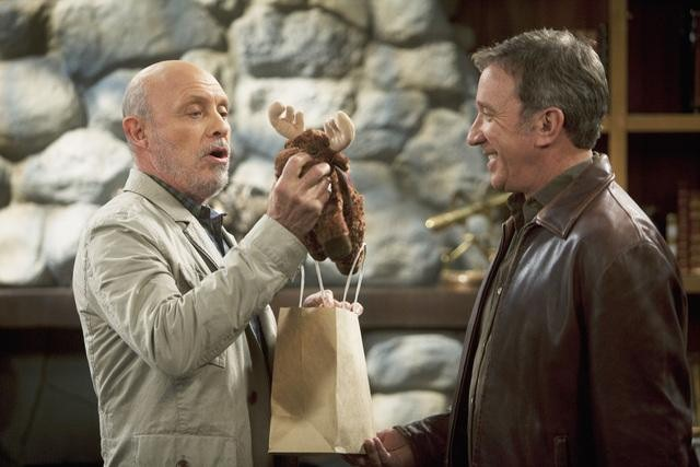 Hector Elizondo and Tim Allen in ABC&#039;s Last Man Standing.