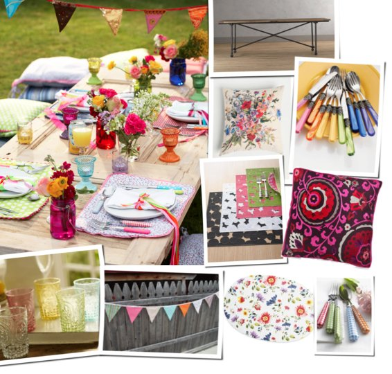 Summer Beach Tablescape And A Summer Tablescape Party: Summer Tablescapes