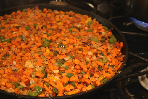 Healthy Sweet Potato Hash