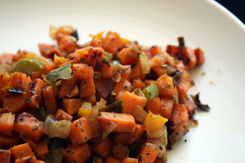 Healthy Sweet Potato Hash Recipe | POPSUGAR Fitness