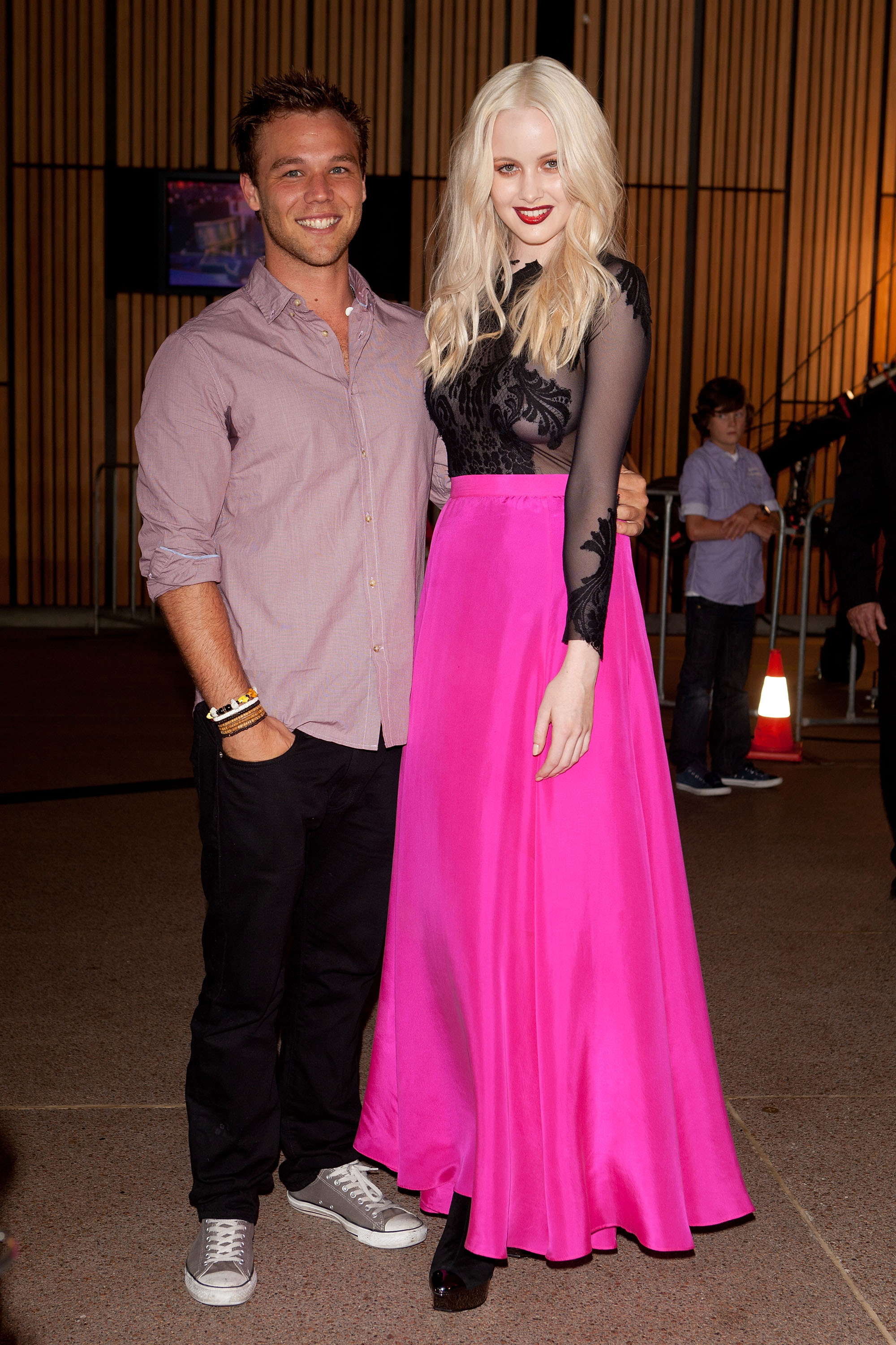 Lincoln Lewis and Simone Holtznagel