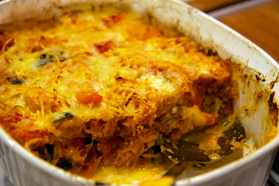 Gluten Free Cheese And Vegetable Bake Recipe