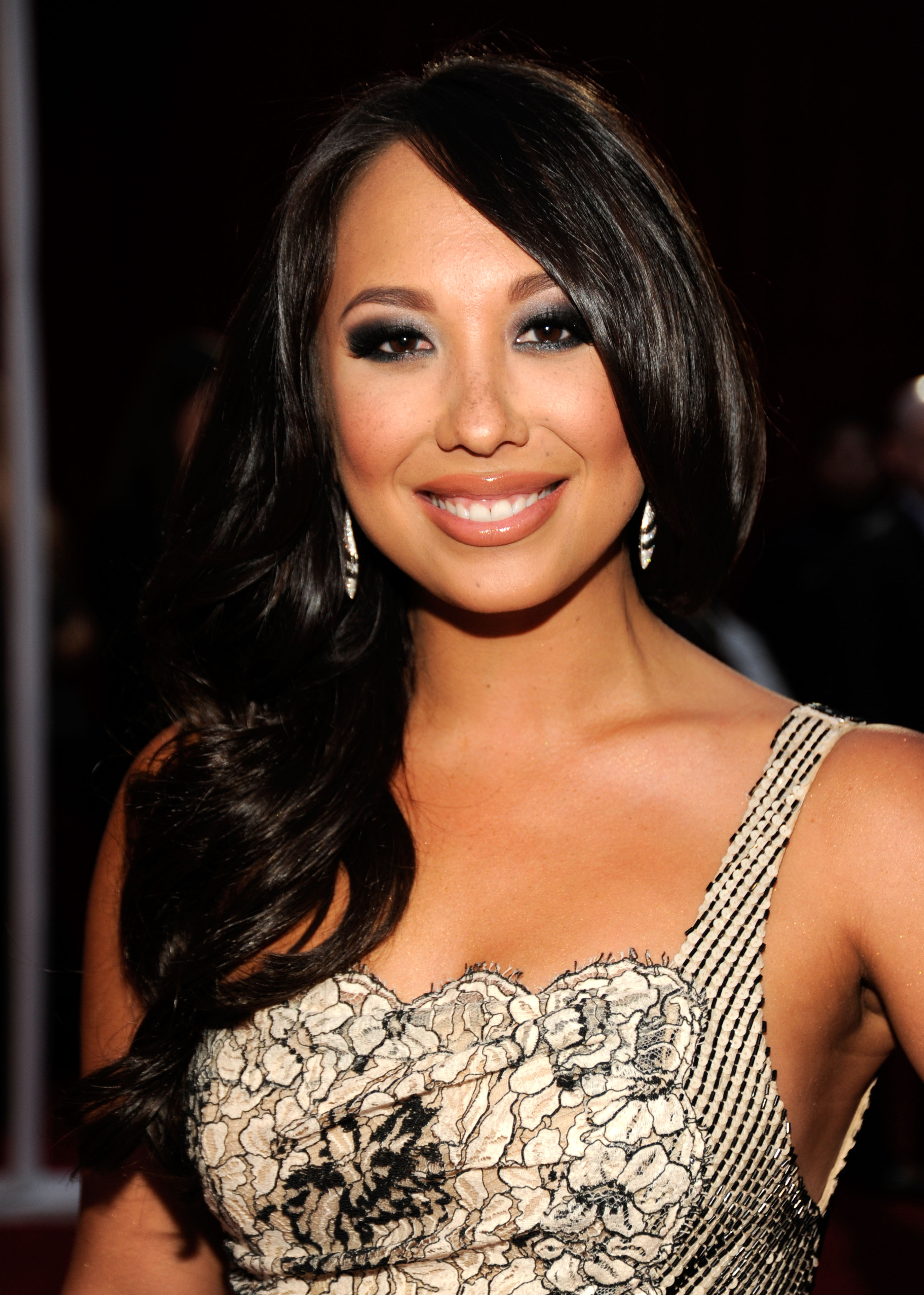 Cheryl Burke at the 2012 People's Choice Awards.