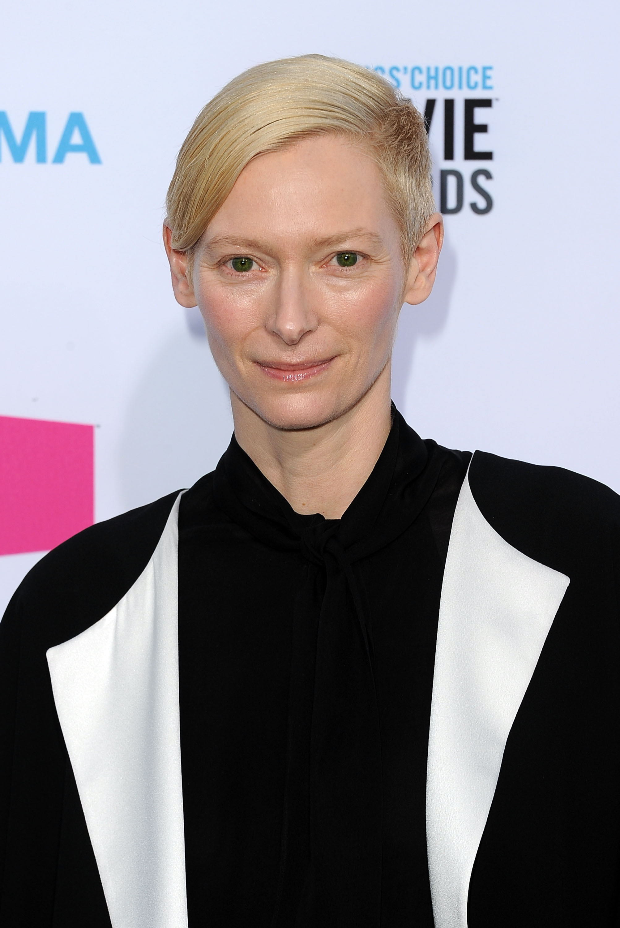 Tilda Swinton at the Critics' Choice Movie Awards.