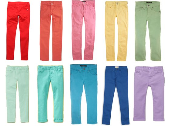 Colorful Jeans For Girls | POPSUGAR Moms