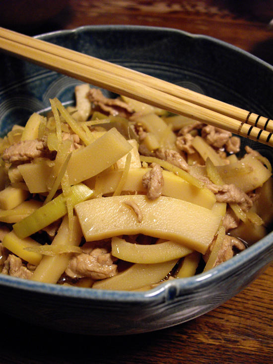 Easy recipes for bamboo shoots