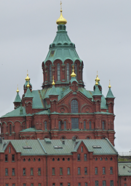 Majestic Orthodox cathedral