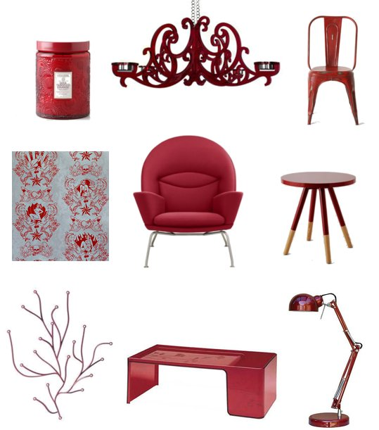 ruby red home decor shopping popsugar home