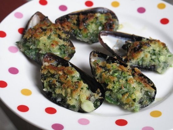 Steamed Mussels Provencal Cooked Scottish Mussels With Recipe ...
