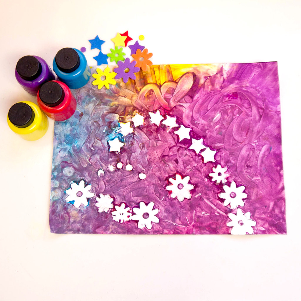 paint craft ideas finger painting crafts for toddlers popsugar 2593